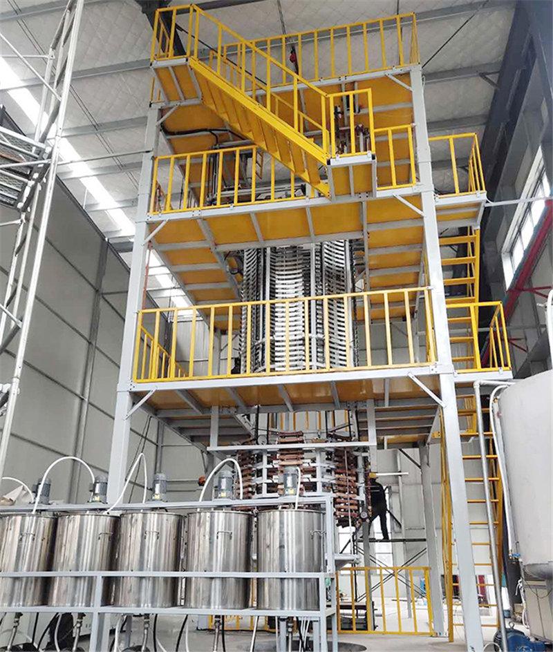 垂直圆泡海绵发泡机械设备自动海绵发泡生产线