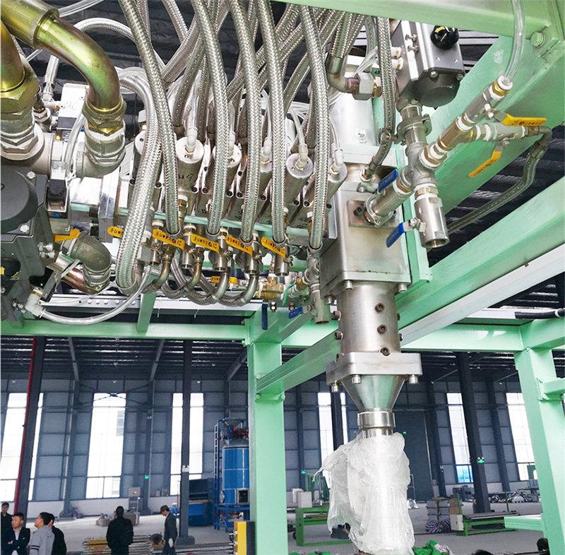 搅拌头系统设计与管路分布(Mixer head pipe)